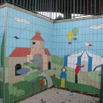 Fiveways Subway Tiling Detail Church and Tent
