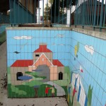 Fiveways Subway Tiling Detail Railings and Church