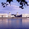 University of Greenwich, Exterior across River