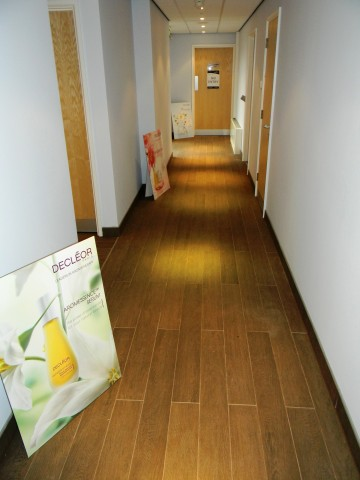 One Leisure, St. Neots - Treatment Rooms Corridor