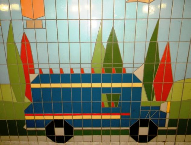 Fiveways Corner Subway - Van