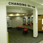 Garons Pool - Changing Village Grooming Area