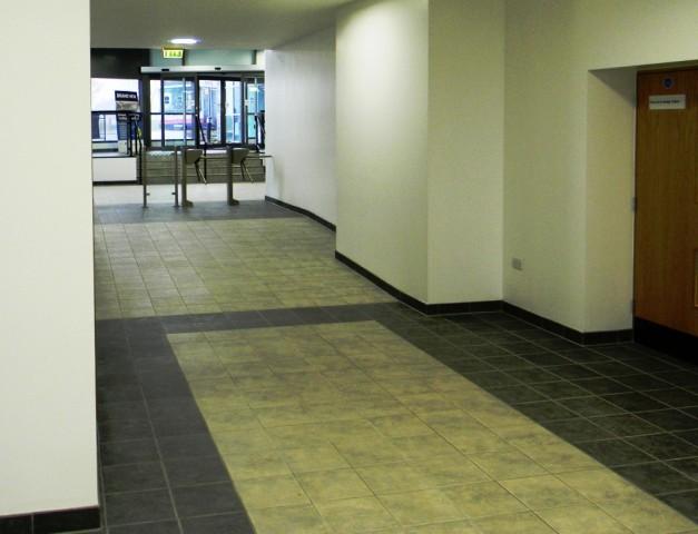 Garons Pool - Link Corridor to Reception