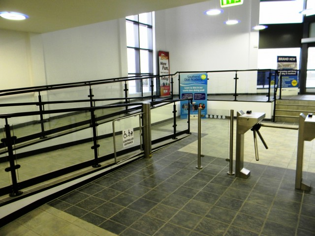 Garons Pool - Main Entrance Turnstiles