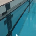 Main Pool Recessed Finger Grip & Recessed Foot Ledge Detail