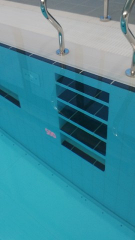 Pool Stair Detail