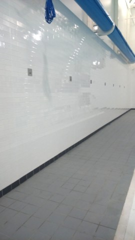 Wall & Floor Tiling to Main Pool Area