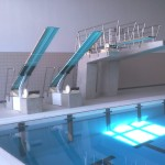 Main Pool with Dive Boards