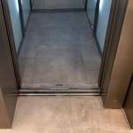 Floor Tiling to Lift Car
