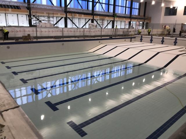 Main Pool Tiled Progress 2